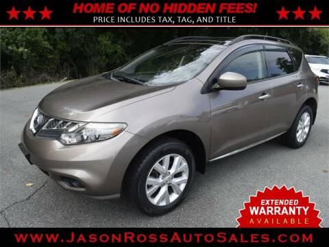 2014 Nissan Murano for sale at Jason Ross Auto Sales in Burlington NC