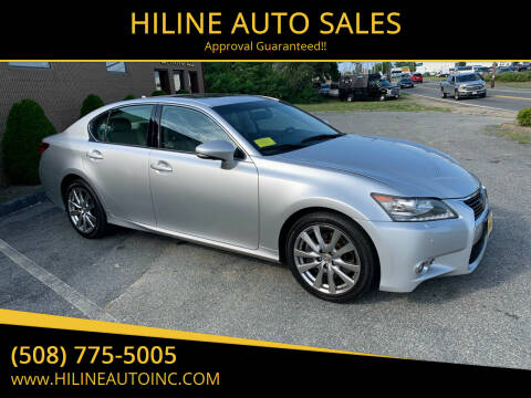 2013 Lexus GS 350 for sale at HILINE AUTO SALES in Hyannis MA