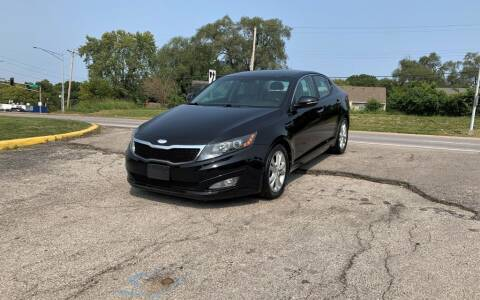 2013 Kia Optima for sale at InstaCar LLC in Independence MO