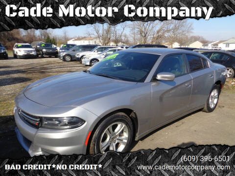 2016 Dodge Charger for sale at Cade Motor Company in Lawrenceville NJ