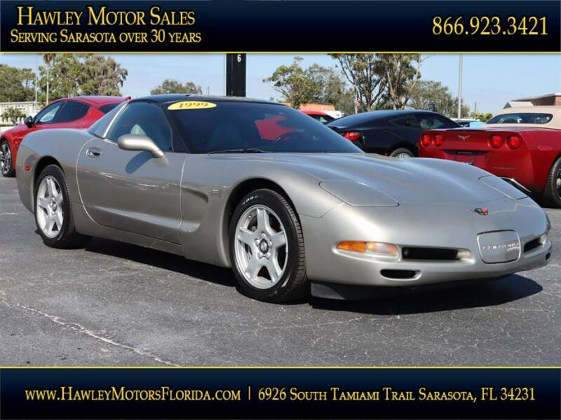 1999 Chevrolet Corvette for sale at Hawley Motor Sales in Sarasota FL