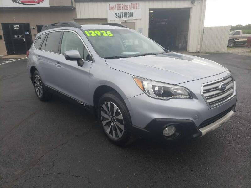 2015 Subaru Outback for sale at Used Car Factory Sales & Service Troy in Troy OH