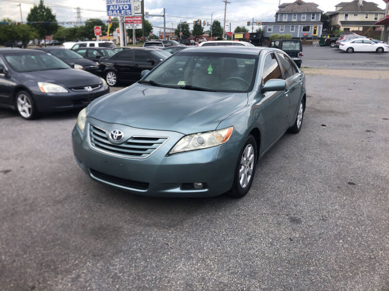 2007 Toyota Camry for sale at 25TH STREET AUTO SALES in Easton PA