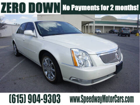 2011 Cadillac DTS for sale at Speedway Motors in Murfreesboro TN