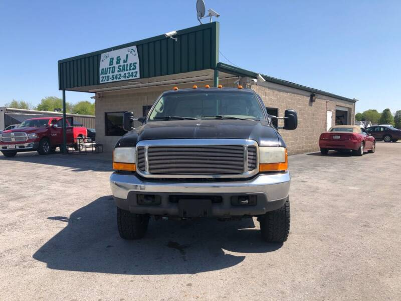 1999 Ford F-250 Super Duty for sale at B & J Auto Sales in Auburn KY
