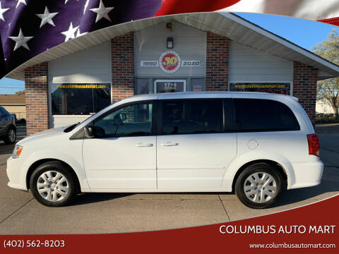 2017 Dodge Grand Caravan for sale at Columbus Auto Mart in Columbus NE