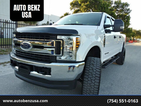 2018 Ford F-250 Super Duty for sale at AUTO BENZ USA in Fort Lauderdale FL