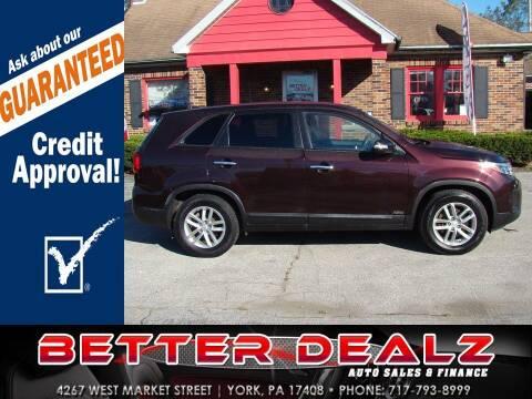 2015 Kia Sorento for sale at Better Dealz Auto Sales & Finance in York PA