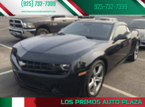 2012 Chevrolet Camaro for sale at Los Primos Auto Plaza in Antioch CA