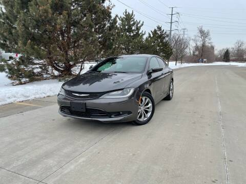 2016 Chrysler 200 for sale at A & R Auto Sale in Sterling Heights MI
