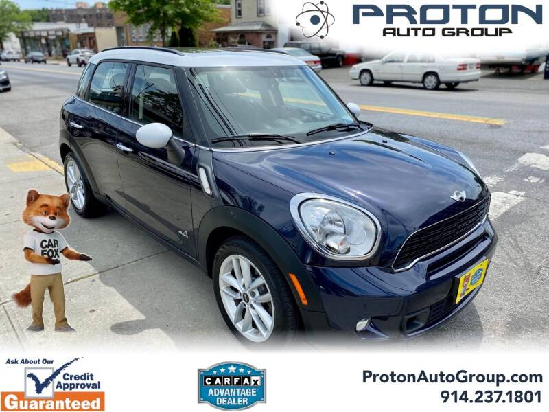 2014 MINI Countryman for sale at Proton Auto Group in Yonkers NY