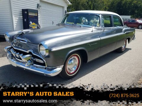 1955 Desoto Firedome for sale at STARRY'S AUTO SALES in New Alexandria PA