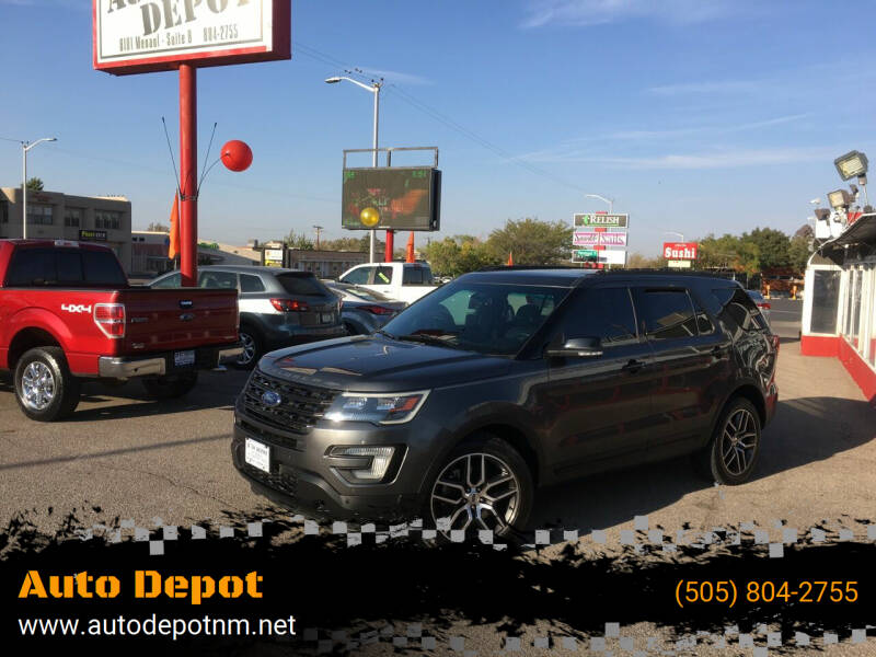 2016 Ford Explorer for sale at Auto Depot in Albuquerque NM