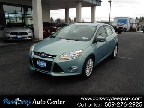 2012 Ford Focus for sale at PARKWAY AUTO CENTER AND RV in Deer Park WA