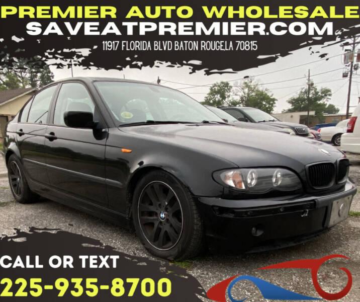 2005 BMW 3 Series for sale at Premier Auto Wholesale in Baton Rouge LA