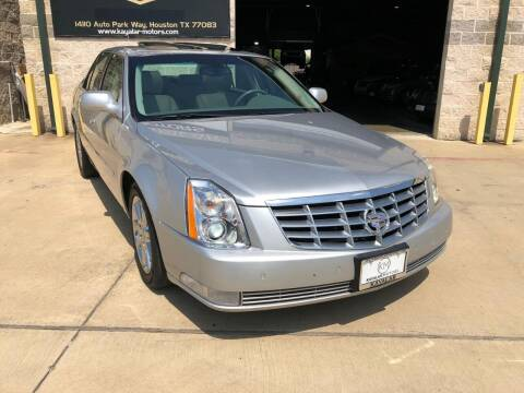 2011 Cadillac DTS for sale at KAYALAR MOTORS - ECUFAST HOUSTON in Houston TX