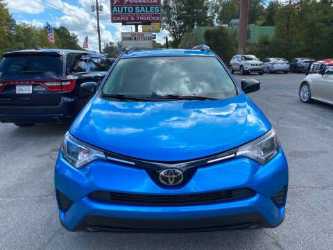 2018 Toyota RAV4 for sale at J Franklin Auto Sales in Macon GA