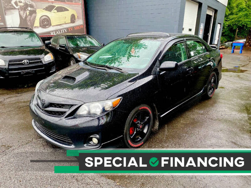 2012 Toyota Corolla for sale at ELITE MOTORS in West Haven CT