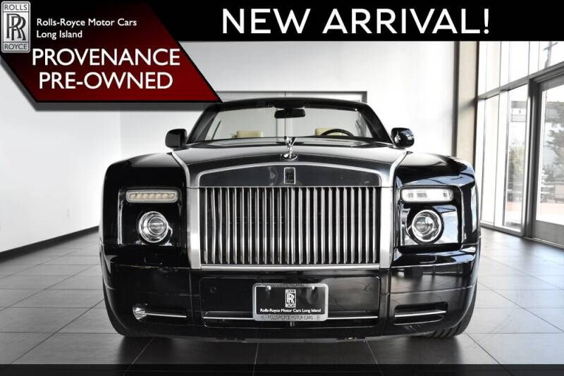 2009 Rolls-Royce Phantom Drophead Coupe for sale at Bespoke Motor Group in Jericho NY