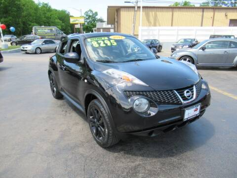 2012 Nissan JUKE for sale at Auto Land Inc in Crest Hill IL