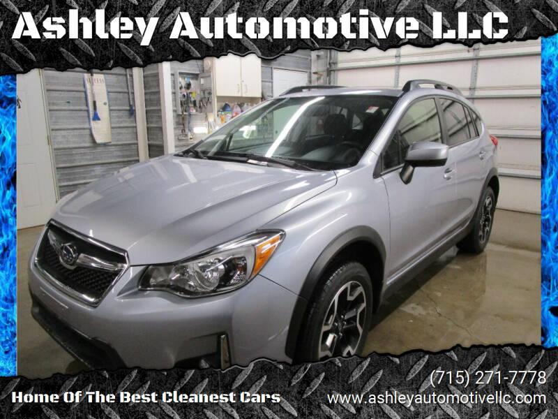 2017 Subaru Crosstrek for sale at Ashley Automotive LLC in Altoona WI