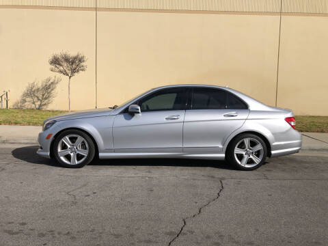 2011 Mercedes-Benz C-Class for sale at HIGH-LINE MOTOR SPORTS in Brea CA
