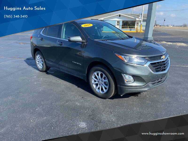 2019 Chevrolet Equinox for sale at Huggins Auto Sales in Hartford City IN