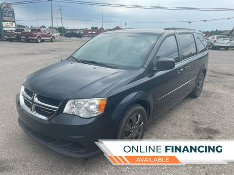 2014 Dodge Grand Caravan for sale at Strait-A-Way Auto Sales LLC in Gaylord MI