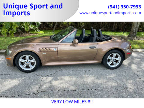 2000 BMW Z3 for sale at Unique Sport and Imports in Sarasota FL