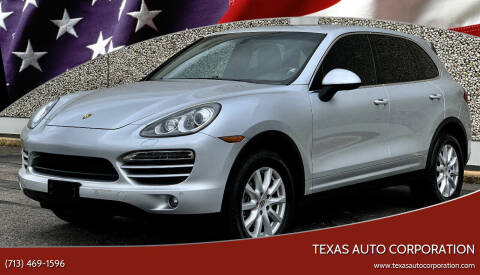 2011 Porsche Cayenne for sale at Texas Auto Corporation in Houston TX