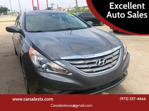 2013 Hyundai Sonata for sale at Excellent Auto Sales in Grand Prairie TX