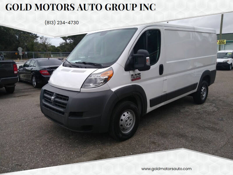2015 RAM ProMaster Cargo for sale at Gold Motors Auto Group Inc in Tampa FL