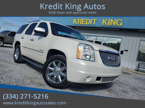 2013 GMC Yukon for sale at Kredit King Autos in Montgomery AL