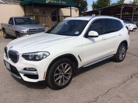 2019 BMW X3 for sale at OASIS PARK & SELL in Spring TX