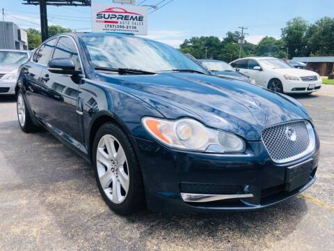 2010 Jaguar XF for sale at Supreme Auto Sales in Chesapeake VA