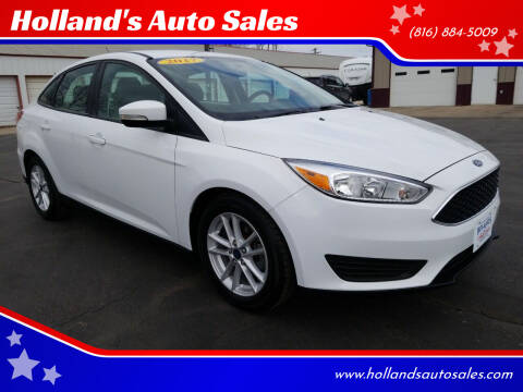 2017 Ford Focus for sale at Holland's Auto Sales in Harrisonville MO
