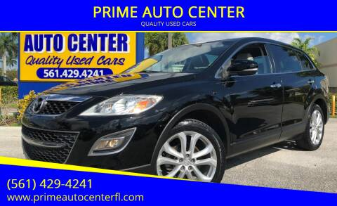 2012 Mazda CX-9 for sale at PRIME AUTO CENTER in Palm Springs FL
