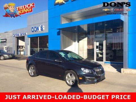 2016 Chevrolet Cruze Limited for sale at DON'S CHEVY, BUICK-GMC & CADILLAC in Wauseon OH