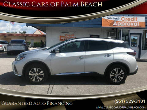 2020 Nissan Murano for sale at Classic Cars of Palm Beach in Jupiter FL