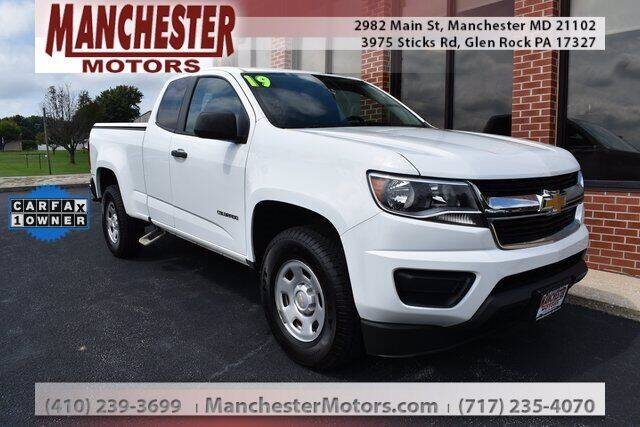 2019 Chevrolet Colorado for sale in Manchester, MD