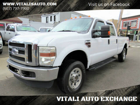 2008 Ford F-250 Super Duty for sale at VITALI AUTO EXCHANGE in Johnson City NY