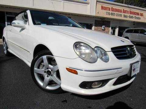 2005 Mercedes-Benz CLK for sale at North Georgia Auto Brokers in Snellville GA