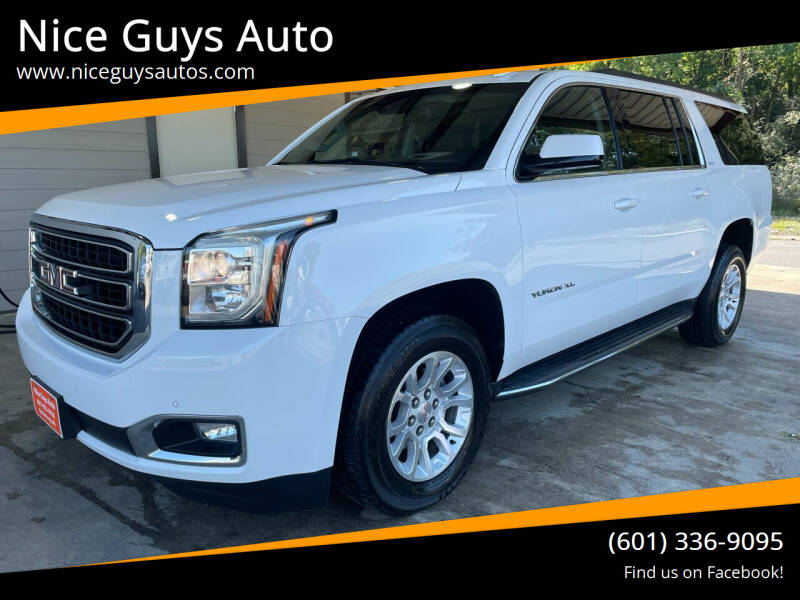 2016 GMC Yukon XL for sale at Nice Guys Auto in Hattiesburg MS