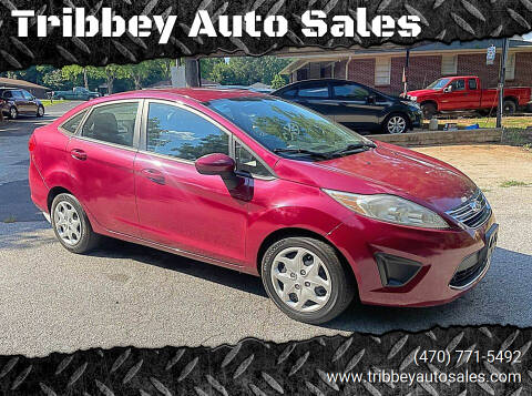 2011 Ford Fiesta for sale at Tribbey Auto Sales in Stockbridge GA