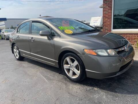 2007 Honda Civic for sale at C&C Affordable Auto and Truck Sales in Tipp City OH