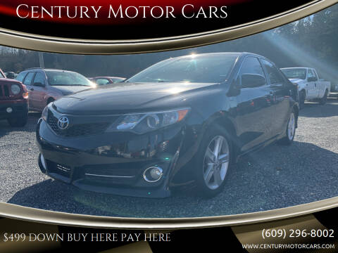 2013 Toyota Camry for sale at Century Motor Cars in West Creek NJ