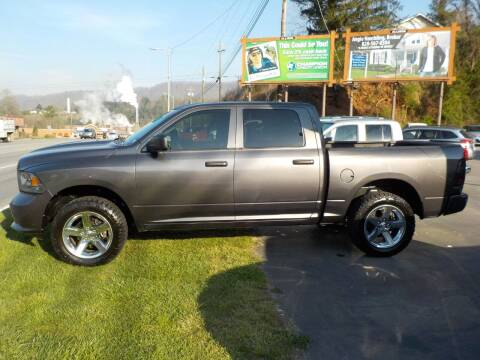 2015 RAM Ram Pickup 1500 for sale at EAST MAIN AUTO SALES in Sylva NC