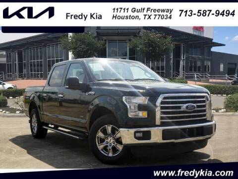 2015 Ford F-150 for sale at FREDY KIA USED CARS in Houston TX