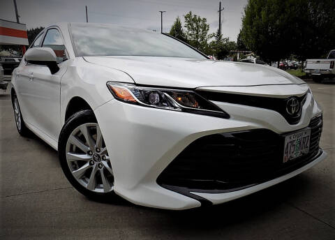 2018 Toyota Camry for sale at A1 Group Inc in Portland OR