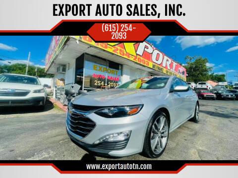2021 Chevrolet Malibu for sale at EXPORT AUTO SALES, INC. in Nashville TN